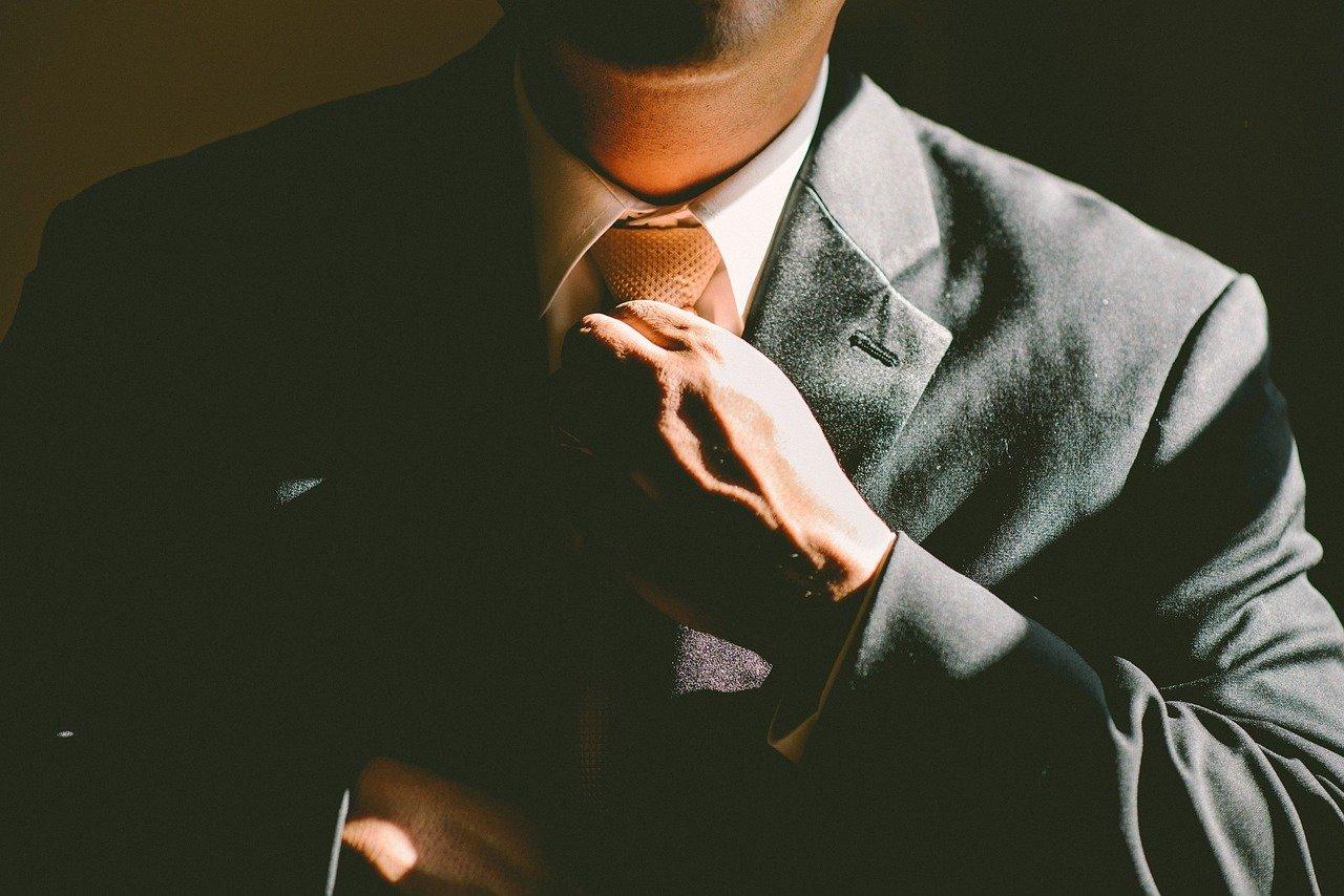 Un homme d'affaires
